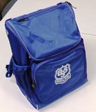 school backpack with BSS logo